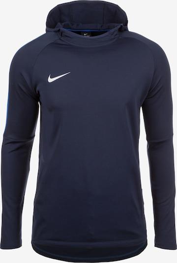 NIKE Sweatshirt 'Dry Academy 18' in marine / royalblau / weiß, Produktansicht