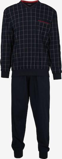 Götzburg Pyjama in dunkelblau / weiß, Produktansicht