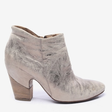 VIC MATIÉ Dress Boots in 40 in Silver