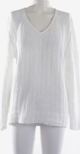 Iris von Arnim Pullover / Strickjacke in L in weiß, Produktansicht