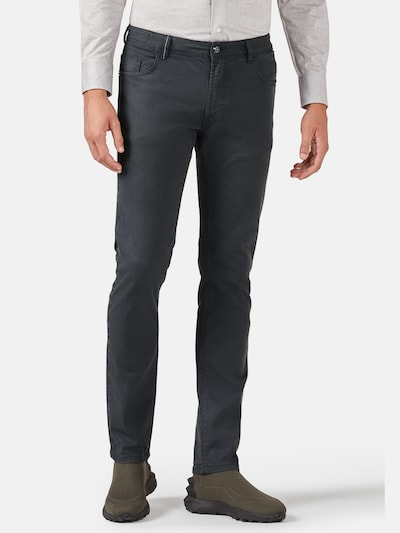 Boggi Milano Jeans in grey denim, Modelansicht