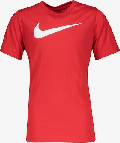 NIKE T-Shirt in blutrot, Produktansicht