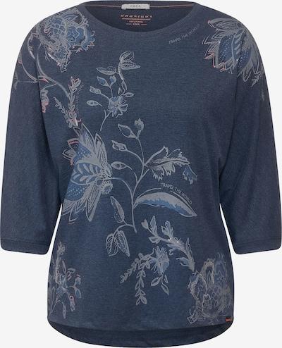 CECIL Shirt in beige / blaumeliert, Produktansicht