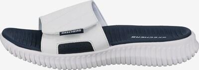 SKECHERS Pantolette in navy / weiß, Produktansicht
