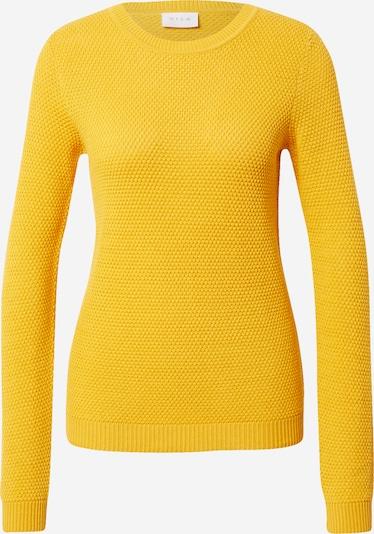 VILA Pullover 'CHASSA' in goldgelb, Produktansicht