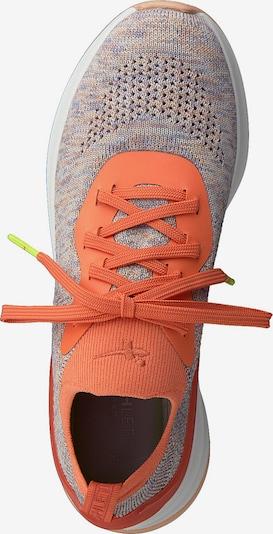 TAMARIS Sneaker 'Tamaris Fashletics' in grau / neonorange, Produktansicht