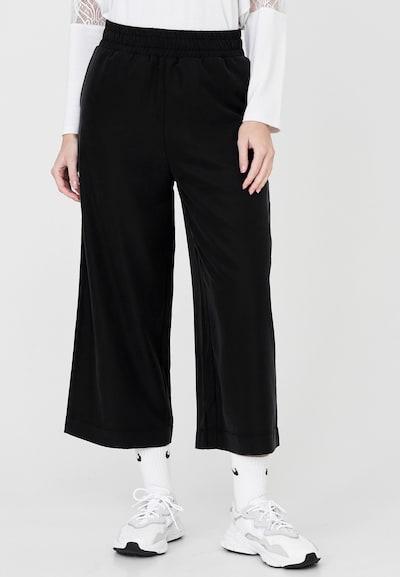 Cotton Candy Hose 'SAMIRA' in schwarz, Modelansicht