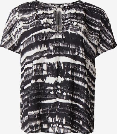 Indiska Bluse 'NATHALIE' in schwarz / weiß, Produktansicht