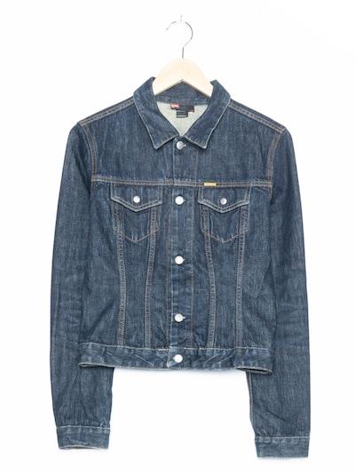 DIESEL Jeansjacke in S in dunkelblau, Produktansicht