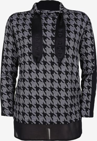 Doris Streich Shirt mit Allover-Muster in grau / dunkelgrau / schwarz, Produktansicht