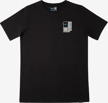 O'NEILL T-Shirt 'Andaman Sea' in Schwarz
