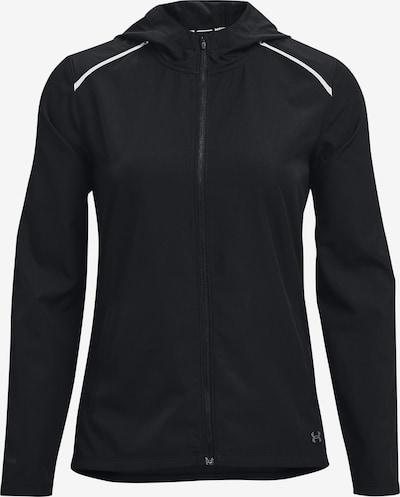 UNDER ARMOUR Chaqueta deportiva 'OutRun' en gris plateado / negro, Vista del producto