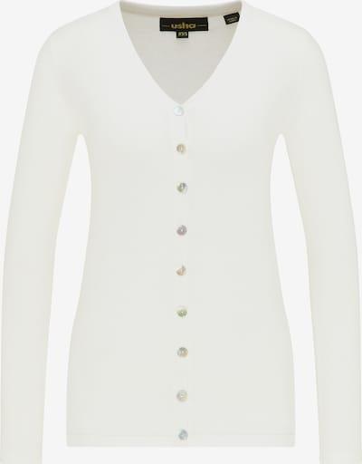 usha BLACK LABEL Cardigan in weiß, Produktansicht