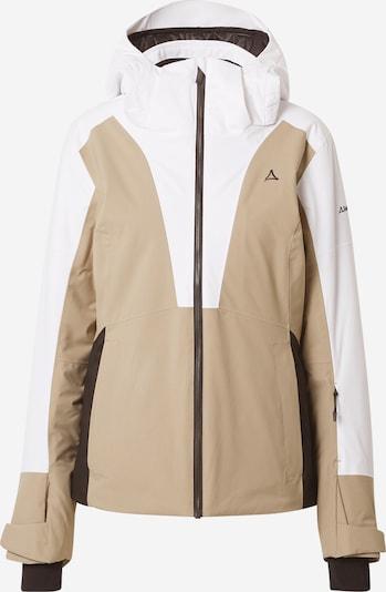 Schöffel Sportjas in de kleur Lichtbruin / Wit, Productweergave