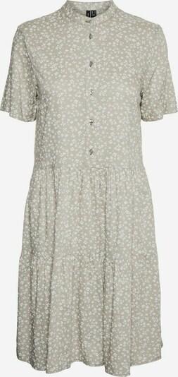 VERO MODA Kleid in oliv / weiß, Produktansicht