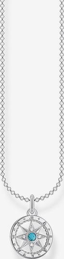 Thomas Sabo Thomas Sabo Damen-Kette 925er Silber 4 Türkis ' ' in silber, Produktansicht