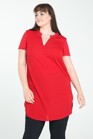 Promiss Tunic in Red