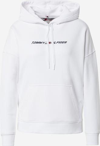 Sweat de sport Tommy Sport en blanc