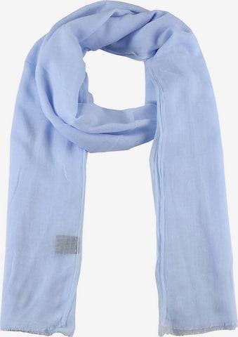 Zwillingsherz Szalik w kolorze niebieski