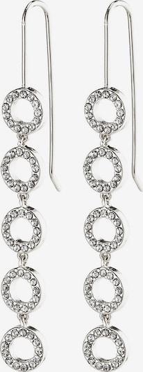 Pilgrim Boucles d'oreilles 'Tessa' en argent / transparent, Vue avec produit