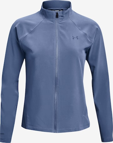UNDER ARMOUR Athletic Jacket 'Launch 3.0' in Blue