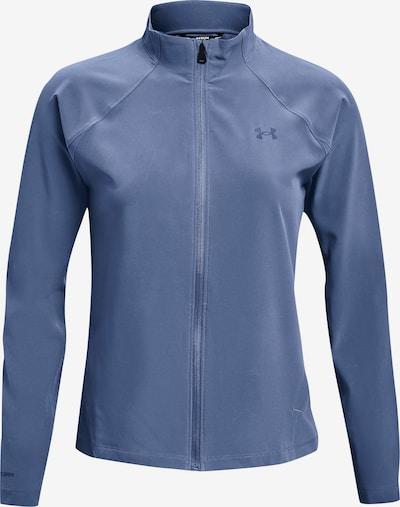 UNDER ARMOUR Sportjas 'Launch 3.0' in de kleur Duifblauw, Productweergave