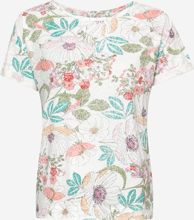 ESPRIT Koszulka w kolorze mieszane kolory / offwhitem, Podgląd produktu