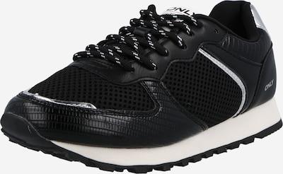 Sneaker low 'SAHEL' ONLY pe negru / argintiu, Vizualizare produs