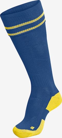 Hummel Sportsocken in blau / gelb, Produktansicht