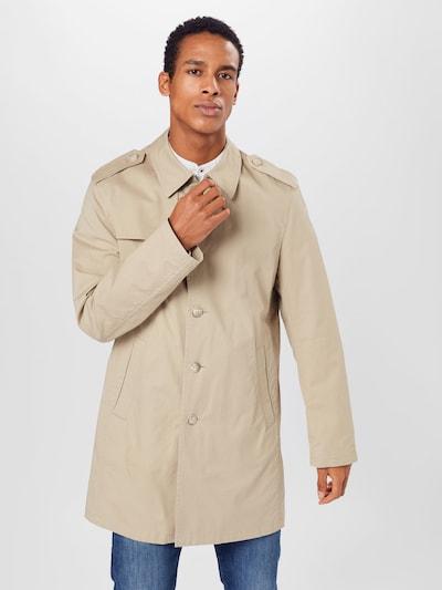 bugatti Manteau mi-saison en beige, Vue avec modèle