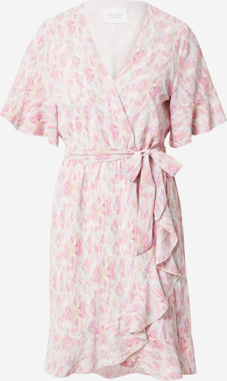 SISTERS POINT Shirt Dress 'NEW GRETO-14' in Cream / Light blue / Pink, Item view