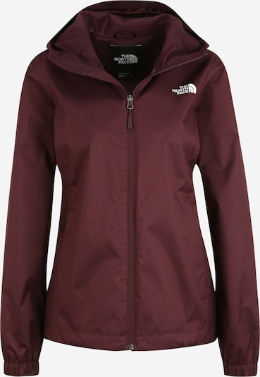 THE NORTH FACE Outdoorjacka 'Quest' i aubergine / vit, Produktvy
