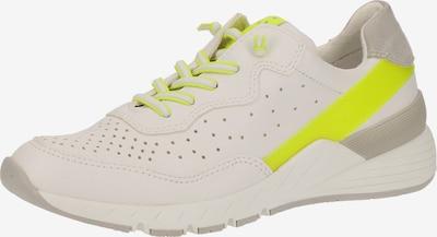 MARCO TOZZI Sneaker in neongelb / grau / weiß, Produktansicht
