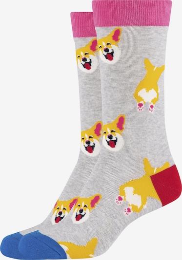 FUN Socks Crew Socks 'Foxie' in mischfarben, Produktansicht