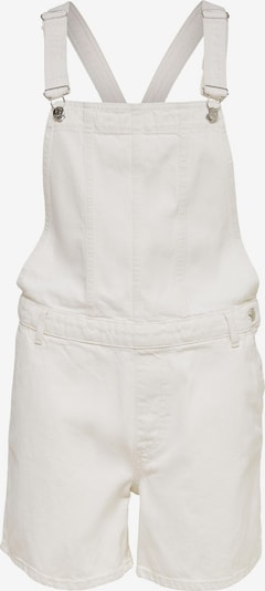 ONLY Dungaree jeans 'Percy' in White denim, Item view