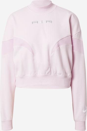Nike Sportswear Sweatshirt in altrosa / hellpink / weiß, Produktansicht