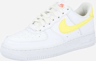 Sneaker bassa 'Air Force 1' Nike Sportswear di colore giallo / bianco, Visualizzazione prodotti