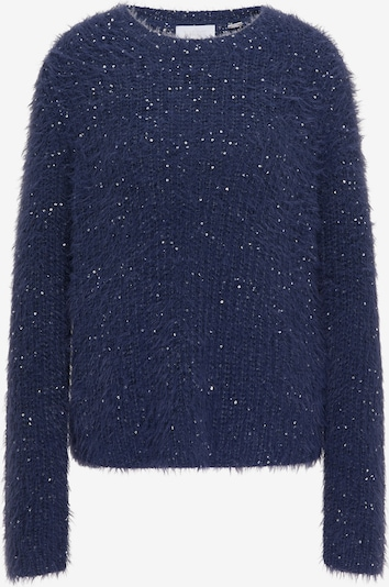 usha WHITE LABEL Pullover in blau, Produktansicht