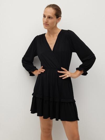 MANGO Kleid 'Moss' in schwarz, Modelansicht