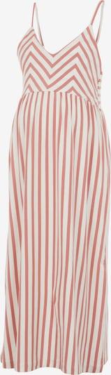 MAMALICIOUS Kleid 'Aisa' in creme / rosa, Produktansicht