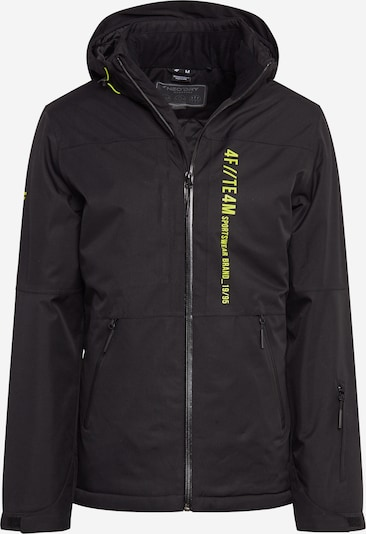 4F Outdoorová bunda - černá, Produkt