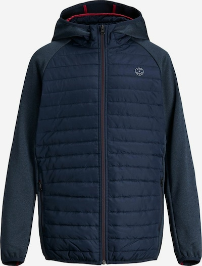Jack & Jones Junior Steppjacke in blau, Produktansicht