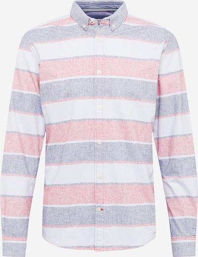 TOM TAILOR Koszula w kolorze gołąbkowo niebieski / jasnoróżowy / białym, Podgląd produktu