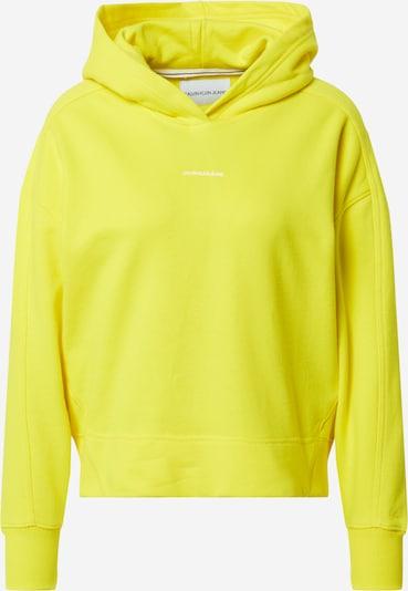 neonsárga Calvin Klein Jeans Tréning póló, Termék nézet