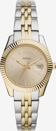 FOSSIL Uhr in gold / silber, Produktansicht