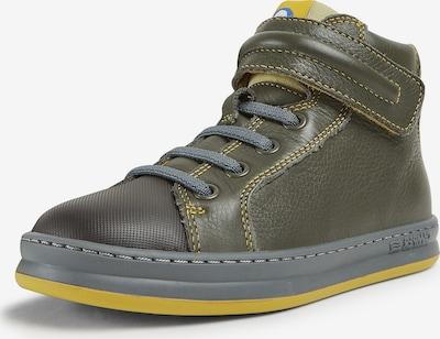 CAMPER Sneaker 'Runner Four' in gelb / dunkelgrün / schwarz, Produktansicht