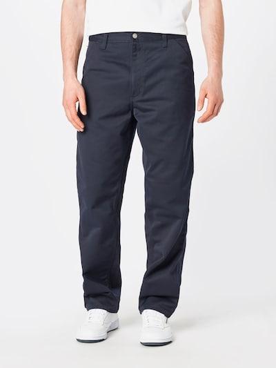 Carhartt WIP Nohavice 'Simple Pant' - námornícka modrá / modrá denim: Pohľad spredu