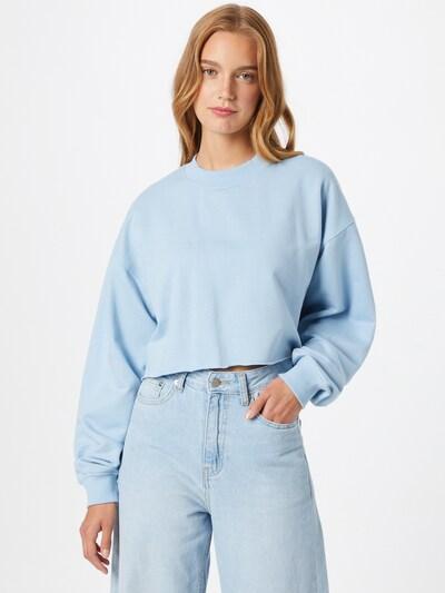Daisy Street Sweatshirt 'CODI' in hellblau: Frontalansicht