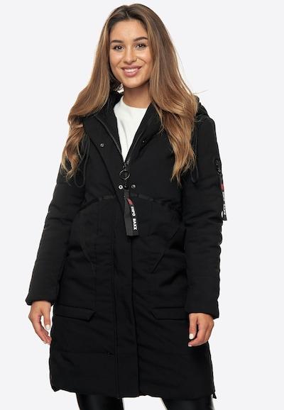 CIPO & BAXX Winterjacke in schwarz, Modelansicht
