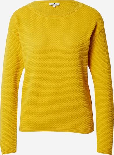 TOM TAILOR Pulover | rumena barva, Prikaz izdelka